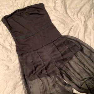 Unique black jumpsuit romper